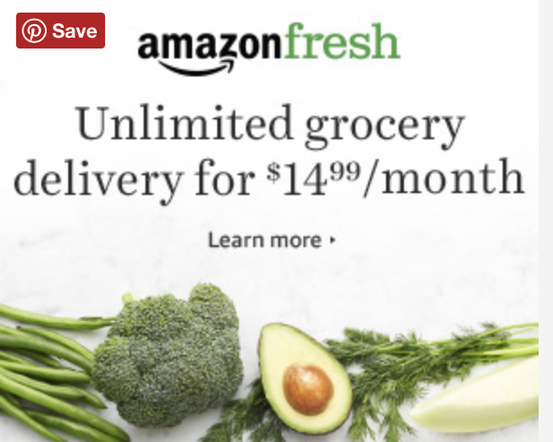 Amazon Unlimited Groceries