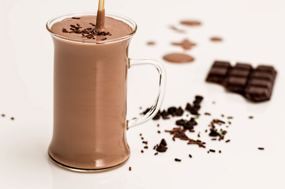 Chocolate, Banana, Nut Smoothie